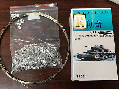 R-Model 1/35 35051 Metal Track For WWII Italy M13/40 Light Tank