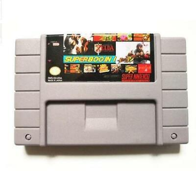 Super 800 in 1 Game Collection Nintendo SNES  multicart