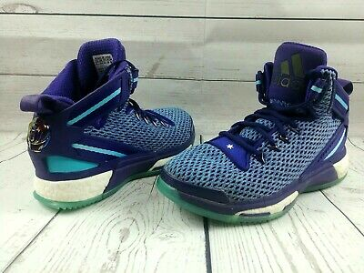 97dc65d17fb Adidas D Rose 6 Boost Athletic Basketball Shoes ~ Size 5 ~ Blue Purple    AQ8724