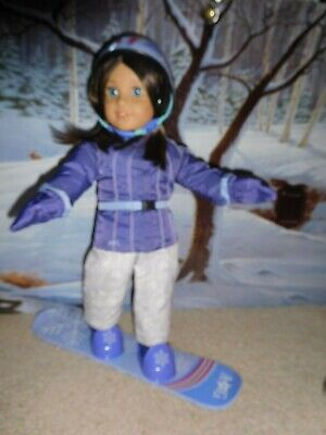 American Girl Chrissa/'s SNOW OUTFIT Sweater Pants Boots Set DOLL is NOT INCLUDED