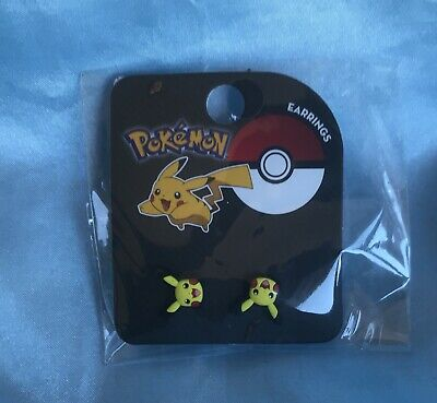 Cute Pikachu Studs - Official Pokemon Earrings From Loungefly