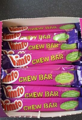 Vimto Chew Bars Sweets Full Case Of 60 Sealed Box Engagement Wedding Favours Candy, Gum & Chocolate Food & Beverages