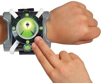 Ben 10 Action Omnitrix Roleplay Ages 4+ Toy Watch 40+ Alien Phrases Play Sound