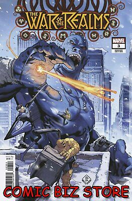 War Of The Realms #3 (Of 6) (2019) 1St Printing Scarce 1:50 Tan Variant Cover