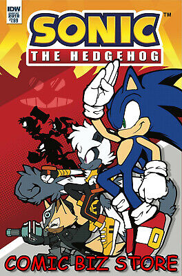 Sonic The Hedgehog Annual #1 (2019) 1St Printing Sonic Team Cover A ($7.99)