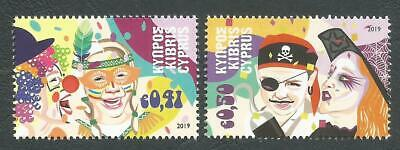 Cyprus Stamps SG 2019 Carnival - MINT NEW