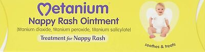 Metanium Nappy Rash Ointment Treatment Soothes and Treats Baby's Nappy Rash 30g