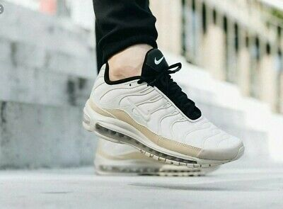 new product ed2a9 54ee7 NIKE AIR MAX 97 Plus Light Orewood Brown Rattan Off White Size 11 AH8144 101