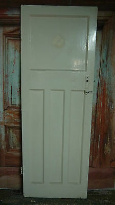 A26/02 (26 3/4 x 75) 1920's /1930s original old pine reclaimed wooden door