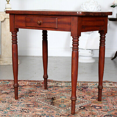 Antique Swedish Writing Desk Table 19th Century Country Desk