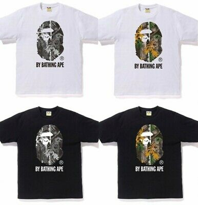 05862bca A Bathing Ape Mens Tops Bape Forest Camo By Bathing Tee 2019 New From Japan  Sw
