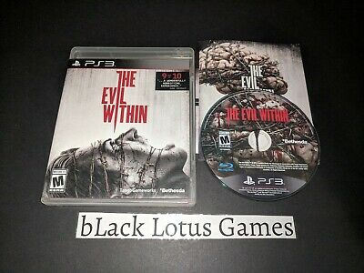 Near Mint Disc The Evil Within PS3 PlayStation 3 Survival Horror