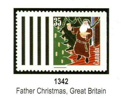 BOOKLET:CHRISTMAS, GREETMORE, BK133a, UC#1342a, 1991, 35c, 10 STAMPS