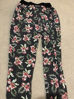 New Look 915 Generation Ladies Girls 12-13 Years Legging Floral Trousers
