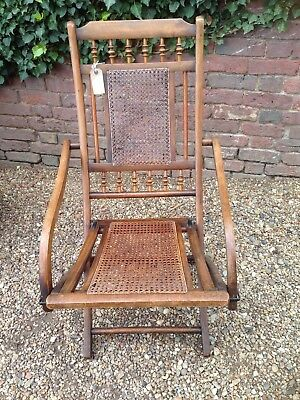 Edwardian Military Campaign Field Chair