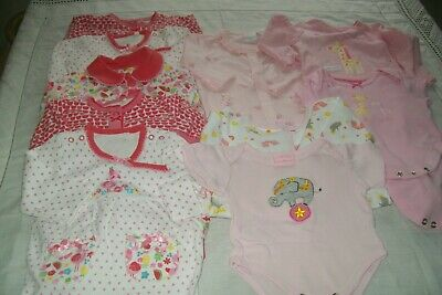 Baby girls clothes Rock-a-bye/bluezoo/TU newborn - combined postage available