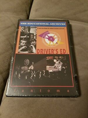 Educational Archives Vol. 3 Driver's Ed DVD Cult Classic Jimmy Stewart History