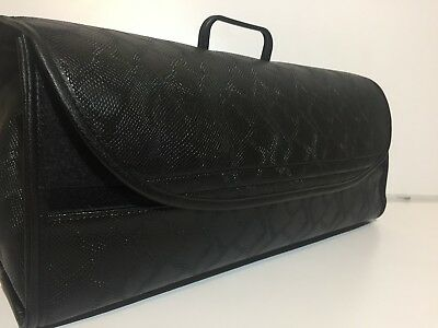 BMW M series SNAKE leather car boot organiser storage bag will fit all models