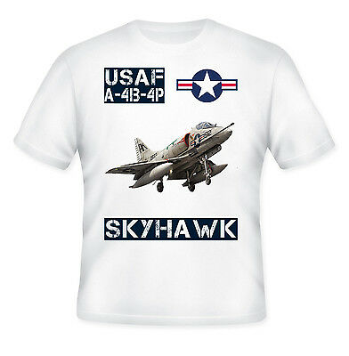 US American Air Force Roundel Star Stripes Top T Shirt New Black USAF T-Shirt
