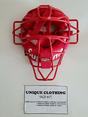 Supreme®/Rawlings® Catcher's Mask RED