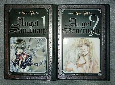 Mangas Angel Sanctuary Deluxe tomes 1 & 2