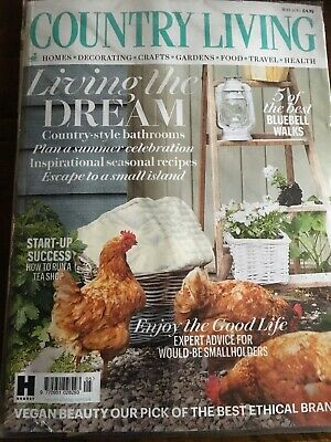 Country Living Magazine May 2019 new