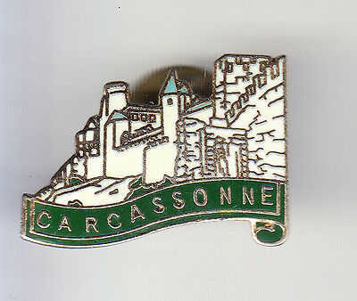 Rare Pins Pin's .. Tourisme Chateau Castle Cite Moyen Age Carcassonne 11 ~Cn