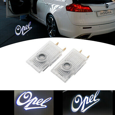 2x Car Door Light Puddle Courtesy LOGO Entry Light Fit Opel Cree LED Projector