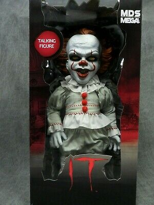 Mezco NEW * It (2017) Pennywise Talking Doll * Designer 15-Inch Figure Horror