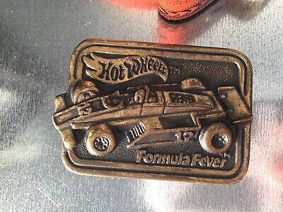 Hot wheels children's Formula Feaver belt and buckle by Lee co 1984