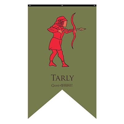 Game of Thrones New * Tarly Sigil Banner * Samwell 30 x 50 Fabric Poster Print
