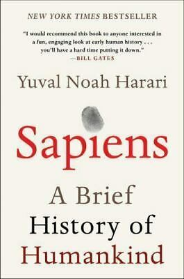 Sapiens : A Brief History of Humankind by Yuval Noah Harari read description