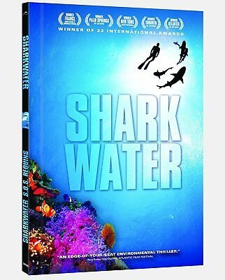 Sharkwater - Special Earth Day Edition- Brand New DVD- Fast Ship!- VG-A58038DV