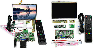 "HDMI+VGA+2AV+USB+Audio Controller Board with 7""LCD Panel HSD070PWW1-C00 1280x800"