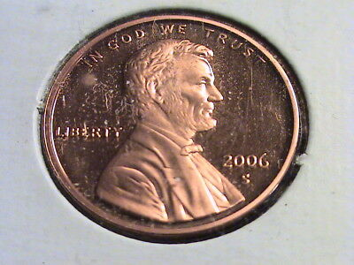2006 S Lincoln Memorial Proof Cent, beautifully struck   L67  P1194