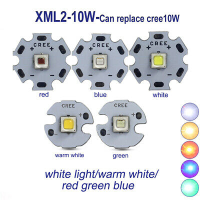 Cree XML2 LED 10W High power LED chip COB Grow light without PCB and DC Driver