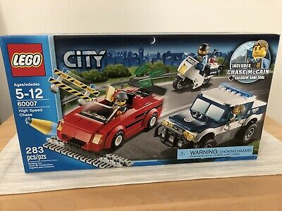LEGO: CITY (60007) High Speed Chase McCain minifig NEW Factory Sealed Box