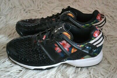 ee74571d7bf0a Authentic Rare Adidas Y-3 Roland Garros Floral Print Tennis Sneakers Size  US 7 ½