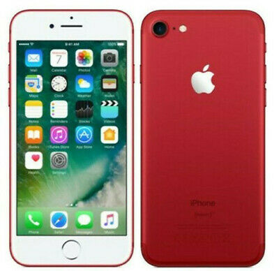 Brand New Apple iPhone 7 128GB Red Factory Unlocked AT&T T-Mobile A1778 (GSM)
