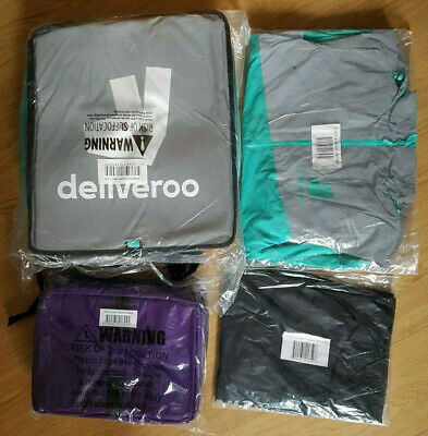 Deliveroo FULL Kit - Jacket , Big Backpack, Small Bag, Jacket, Trousers