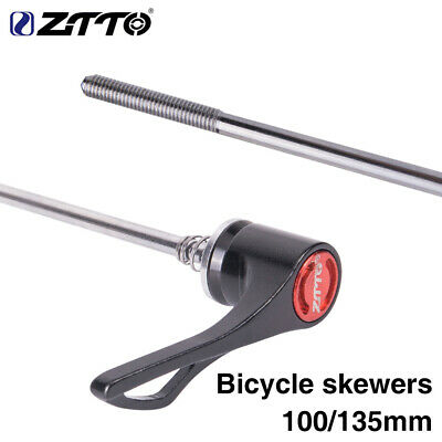 ZTTO new MTB Road Bike Bicycle Screw QR Quick Release Skewer Reliable Axle 1Pair