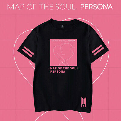 BTS  map of the souf  T-Shirt lose Baumwolle Neues
