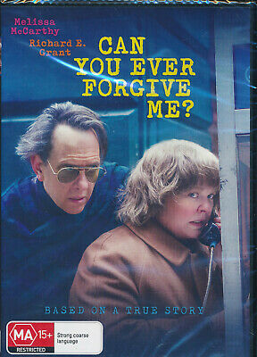 Can You Ever Forgive Me? DVD NEW Region 4