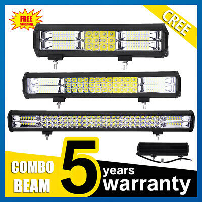 LED Work Light Bar Flood Spot Combo Beam Offroad Car Truck Work Lamp 12V 24V
