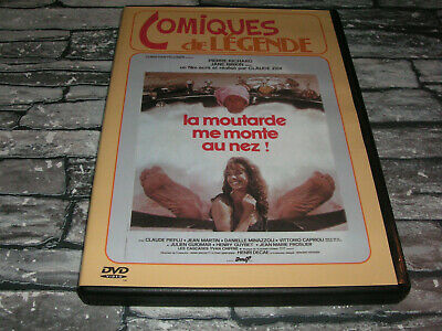 LA MOUTARDE ME MONTE AU NEZ - Claude ZIDI / Pierre RICHARD Jane BIRKIN / DVD