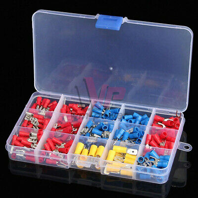 280PCS Assorted Crimp Spade Terminal Insulated Electrical Wire Connector DIY Kit