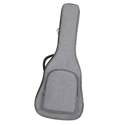 40/41inch Wooden Acoustic Folk Guitar Carrying Padded Case Bag Cover