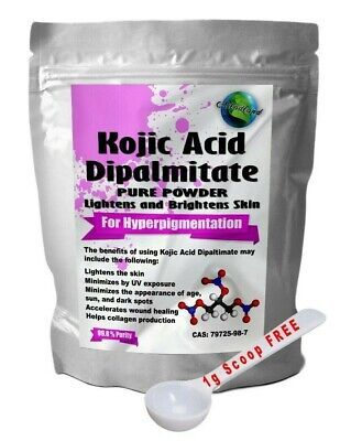 Kojic Acid Dipalmitate Powder, Skin Lightening Whitening, Diy Cream Lotion Serum