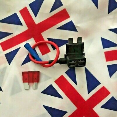 ⭐ 12V Car Add-a-circuit Fuse Adapter ATM APM Piggy Back 10A Fuse Included ⭐ UK ⭐