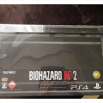 CAPCOM PS4 Resident Evil BIOHAZARD RE:2 Z Version COLLECTOR'S EDITION new